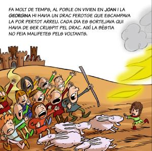 contes personalitzats Sant Jordi